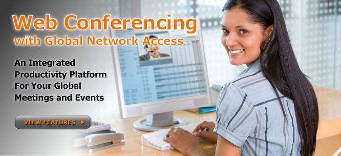 international audio and web conferencing
