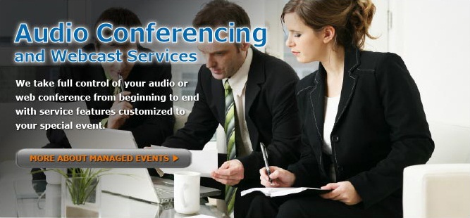 operator assisted teleconference events